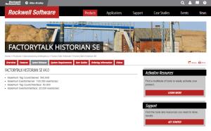 Data Historian Software for Rockwell FactoryTalk